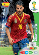 WORLD CUP BRASIL 2014 UTILITY PLAYER Cesc Fàbregas #149