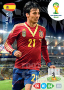 WORLD CUP BRASIL 2014 TEAM MATE David Silva #152