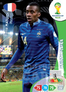 WORLD CUP BRASIL 2014 UTILITY PLAYER Blaise Matuidi #164