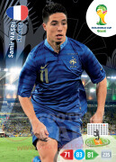 WORLD CUP BRASIL 2014 TEAM MATE  Samir Nasri #165