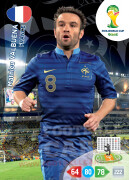 WORLD CUP BRASIL 2014 TEAM MATE Mathieu Valbuena #166