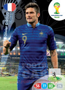 WORLD CUP BRASIL 2014 TEAM MATE Olivier Giroud #167