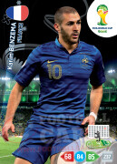 WORLD CUP BRASIL 2014 TEAM MATE Karim Benzema #168