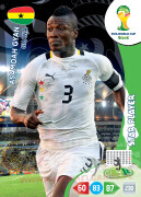 WORLD CUP BRASIL 2014 STAR PLAYER Asamoah Gyan #176