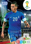 WORLD CUP BRASIL 2014 TEAM MATE Jose Holebas #181