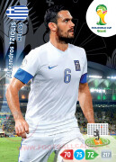 WORLD CUP BRASIL 2014 TEAM MATE Alexandros Tziolis #183