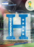 WORLD CUP BRASIL 2014 CLUB BADGE LOGO Honduras #187