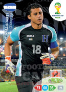 WORLD CUP BRASIL 2014 TEAM MATE Noel Valladares #188