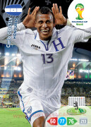 WORLD CUP BRASIL 2014 TEAM MATE Carlo Costly #191