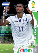 WORLD CUP BRASIL 2014 STAR PLAYER 	Jerry Bengtson #192