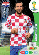 WORLD CUP BRASIL 2014 UTILITY PLAYER Darijo Srna #195