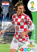 WORLD CUP BRASIL 2014 STAR PLAYER Luka Modrić #197