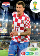 WORLD CUP BRASIL 2014 TEAM MATE Mario Mandžukić #200