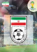 WORLD CUP BRASIL 2014 CLUB BADGE LOGO Iran #202