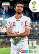 WORLD CUP BRASIL 2014 TEAM MATE Karim Ansarifard #206