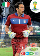 WORLD CUP BRASIL 2014 TEAM MATE Gianluigi Buffon #209