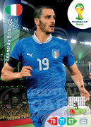 WORLD CUP BRASIL 2014 TEAM MATE Leonardo Bonucci #211
