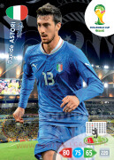WORLD CUP BRASIL 2014 TEAM MATE Davide Astori #212