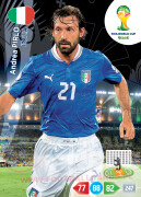 WORLD CUP BRASIL 2014 TEAM MATE Andrea Pirlo #213