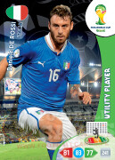 WORLD CUP BRASIL 2014 UTILITY PLAYER  Daniele De Rossi #214