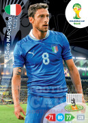 WORLD CUP BRASIL 2014 TEAM MATE Claudio Marchisio #215
