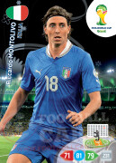 WORLD CUP BRASIL 2014 TEAM MATE Riccardo Montolivo #216