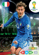 WORLD CUP BRASIL 2014 TEAM MATE Alessandro Diamanti #217