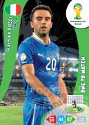 WORLD CUP BRASIL 2014 ONE TO WATCH Giuseppe Rossi #219