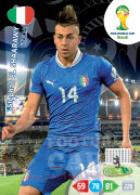 WORLD CUP BRASIL 2014 TEAM MATE Stephan El Shaarawy #220