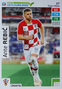ROAD TO EURO 2020 TEAM MATE Ante Rebić 27