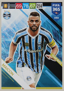 2019 FIFA 365 TEAM MATE  MAICON 292