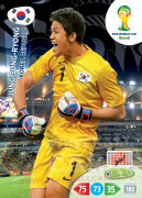WORLD CUP BRASIL 2014 TEAM MATE Jung Sung-Ryong #236