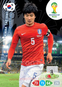 WORLD CUP BRASIL 2014 TEAM MATE Kwak Tae-Hwi #237