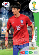 WORLD CUP BRASIL 2014 STAR PLAYER Ki Sung-Yueng #238