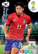 WORLD CUP BRASIL 2014 TEAM MATE Lee Keun-Ho #240