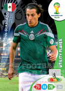 WORLD CUP BRASIL 2014 UTILITY PLAYER Andrés Guardado #245