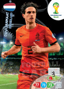 WORLD CUP BRASIL 2014 TEAM MATE Daryl Janmaat #252