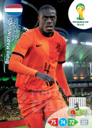 WORLD CUP BRASIL 2014 TEAM MATE Bruno Martins Indi #253