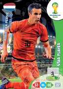 WORLD CUP BRASIL 2014 STAR PLAYER Robin van Persie #260