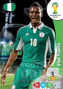 WORLD CUP BRASIL 2014 STAR PLAYER John Obi Mikel #264
