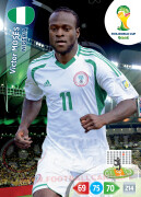 WORLD CUP BRASIL 2014 TEAM MATE Victor Moses #265