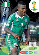 WORLD CUP BRASIL 2014 TEAM MATE Emmanuel Emenike #267