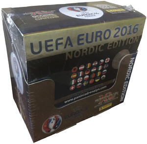 EURO 2016 Panini Adrenalyn XL - Box 50x Saszetka NORDIC EDITION