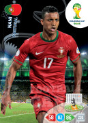 WORLD CUP BRASIL 2014 TEAM MATE Nani #276