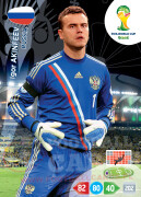 WORLD CUP BRASIL 2014 TEAM MATE Igor Akinfeev #281
