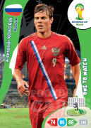 WORLD CUP BRASIL 2014 ONE TO WATCH Aleksandr Kokorin #291