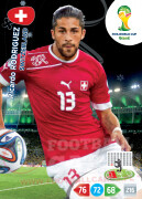 WORLD CUP BRASIL 2014 TEAM MATE Ricardo Rodriguez #294