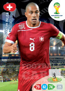 WORLD CUP BRASIL 2014 TEAM MATE Gökhan Inler #298