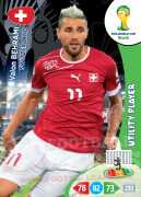 WORLD CUP BRASIL 2014 UTILITY PLAYER Valon Behrami #299