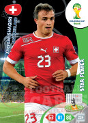 WORLD CUP BRASIL 2014 STAR PLAYER Xherdan Shaqiri #300